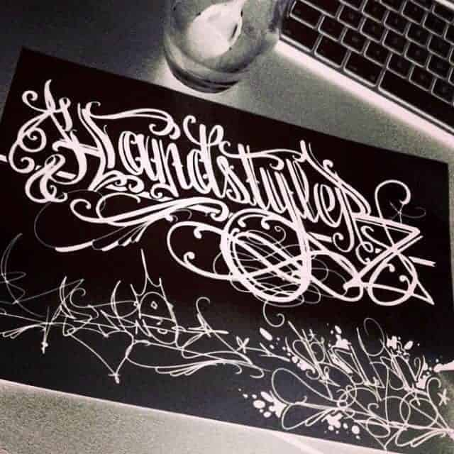 """""""It's important not getting confused with 'nice tag' and 'handstyle'"""""""