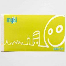 Handstyler Eggshell Stickers - Myki