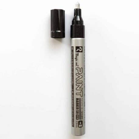 Magic Ink Silver Paint Marker