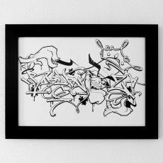 Badypnose A3 Print