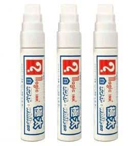 Magic Ink Wide White 3 Pack