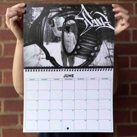 Handstyler 2018 Calendar