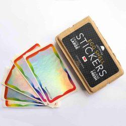 Handstyler Eggshell Stickers - Rainbow Hologram