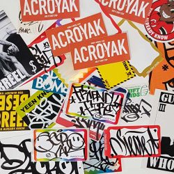 Acroe Friendly Fire Sticker Packs