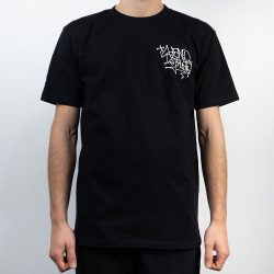 Remio Triangle Tag T-Shirt - Black