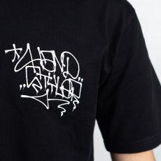 Remio Triangle Tag T-Shirt - Black