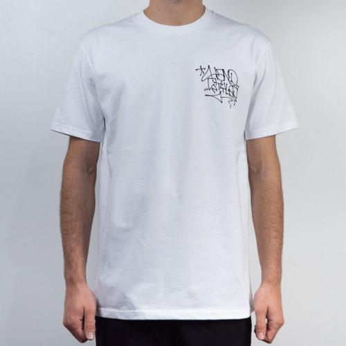 Remio Triangle Tag T-Shirt - White