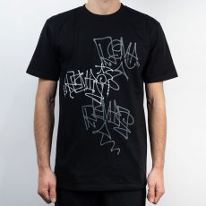 Remio Triple Tag T-Shirt - Black